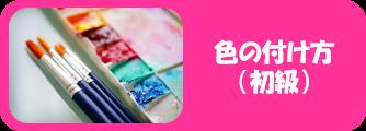 ミニレッスンの色付け(初級)をイメージする写真画像